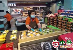 湖北武汉:就地过年水果有保障! ()