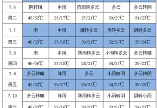 周内降雨频繁加强葡萄田间管理 ()